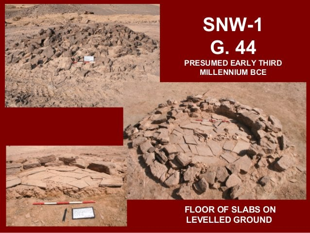 SNW-1 G. 46 WADI SUQ SECONDARY DEPOSITION WITH SOFT STONE VASES