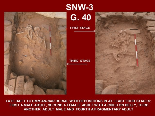 SNW-3 G. 38 TRANSITIONAL HAFIT - UMM AN-NAR GRAVE IN SHALLOW CAIRN