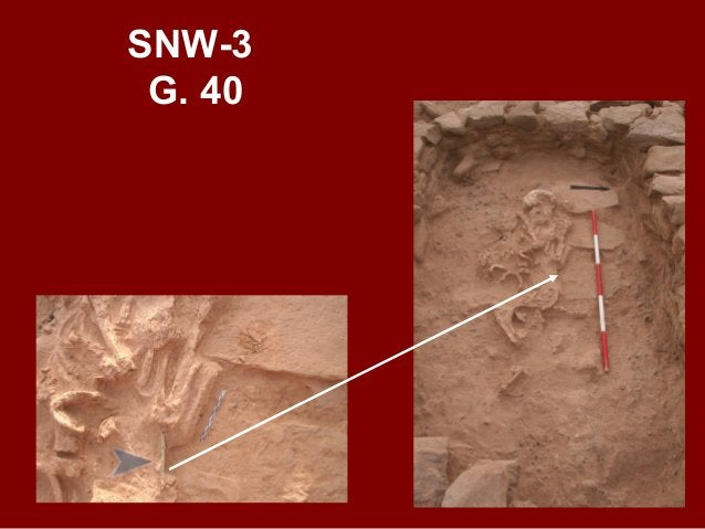 SNW-3 G. 38 USE AND RE-USE OF DOOR FOR SUCCESSIVE BURIALS