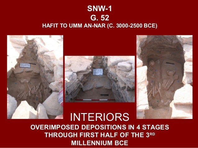 SNW-1 G. 49 PILLARED DOOR JAMBS IN CORE STRUCTURE HAFIT PERIOD (EARLY 3RD MILL. BCE)