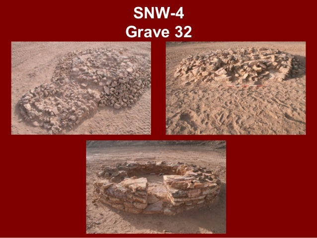 SNW-4 Grave 35 ANCIENT PIT FOR GRAVE'S ROBBERY