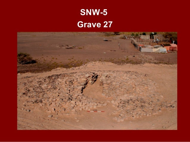 SNW-6 STRUCTURE 26 SHALLOW FEATURES AFTER EXCAVATIONS