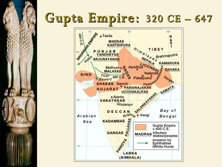 han china and mauryan gupta Thesis: although both han china and gupta india's political control  mauryan/  gupta india wasn't as strong of a civilization, due to their lack in.