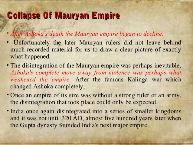 mauryan empire culture