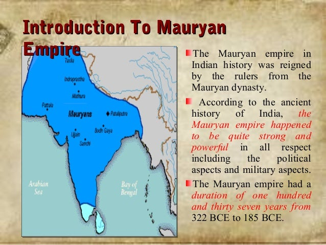 mauryan empire introduction