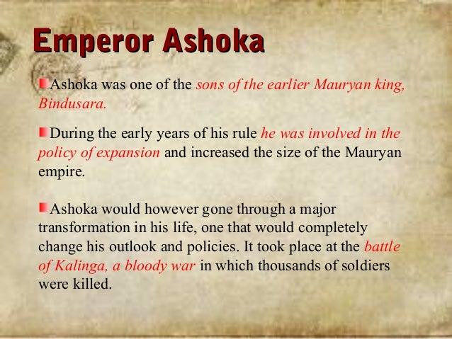 king ashoka story