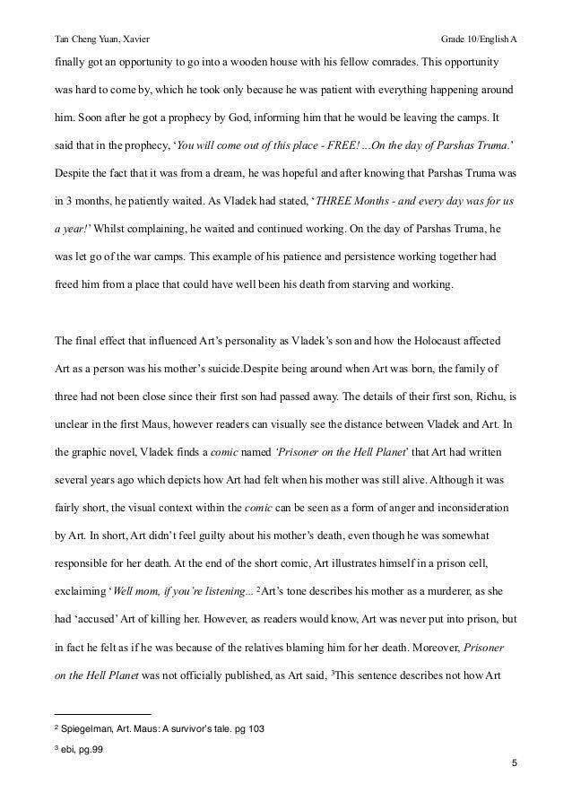 maus vladek essay