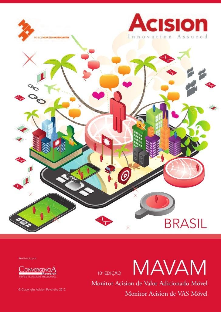 BRASILRealizado por                                       10a EDIÇÃO     MAVAM                                     Monitor...