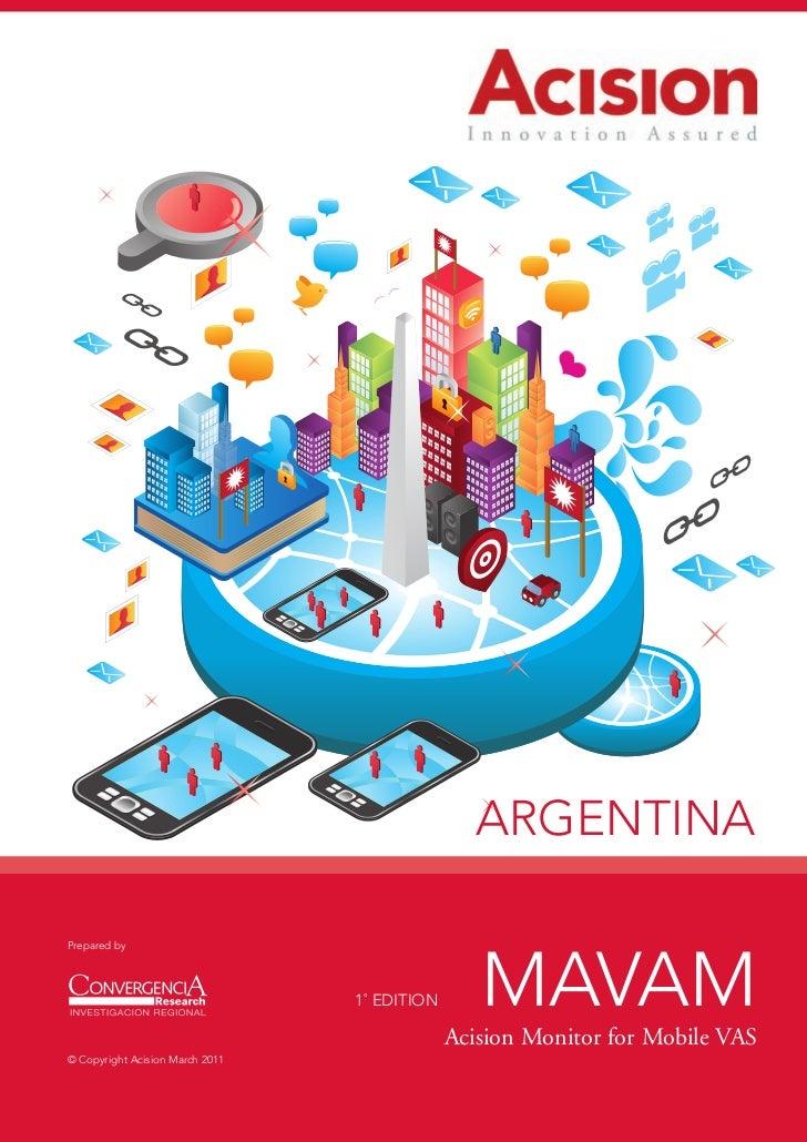ARGENTINAPrepared by                                 1˚ EDITION      MAVAM                                              Ac...