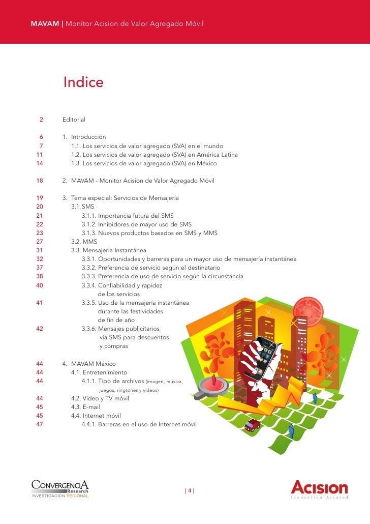 MAVAM | 1. Introducción 48        4.5. Redes sociales 50        4.6. Marketing móvil 51        4.7. Dinero y banca móvil 5...