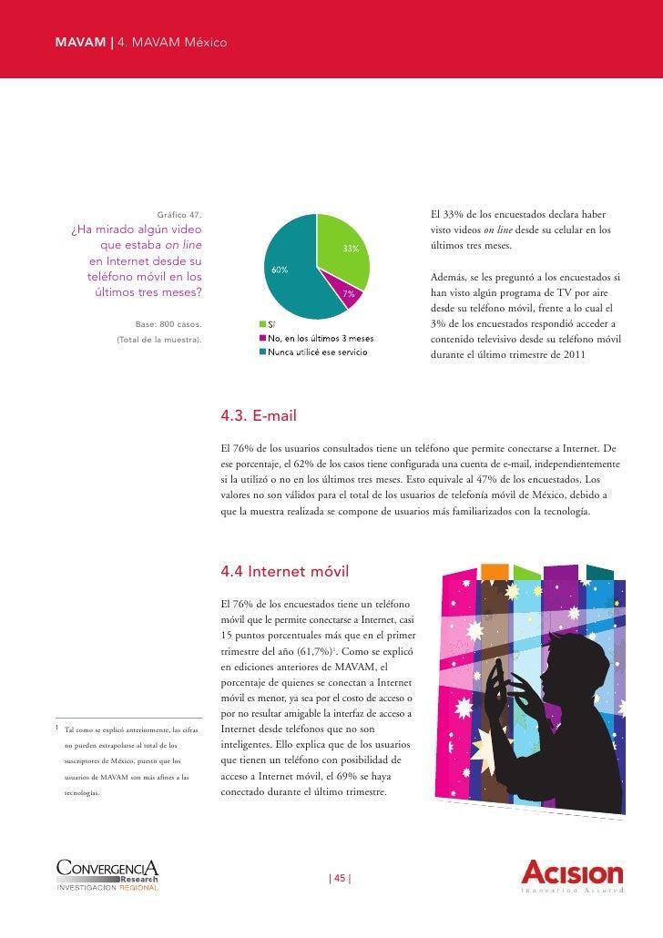 MAVAM | 4. MAVAM México                      Gráfico 48.Dispositivos que permitenconexión a Internet Móvil         Base: t...