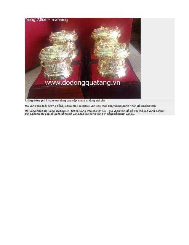 Mạ vàng điện thoại,đồng hồ,đồ gia dụng,mạ vàng đồ thờ phong thủy Slide 3