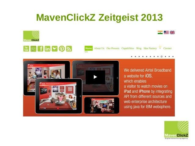 MavenClickZ Zeitgeist 2013