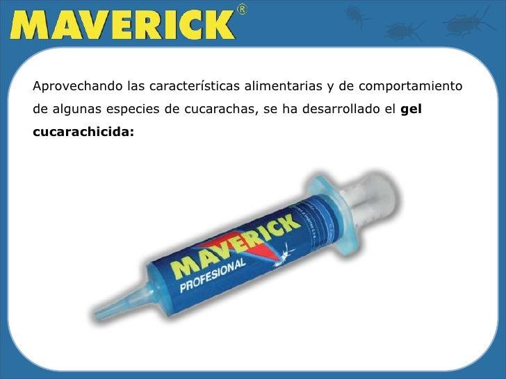 Cebo Gel Cucarachicida Maverick Slide 3