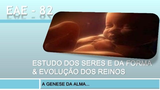 ESTUDO DOS SERES E DA FORMA & EVOLUÇÃO DOS REINOS EAE - 82