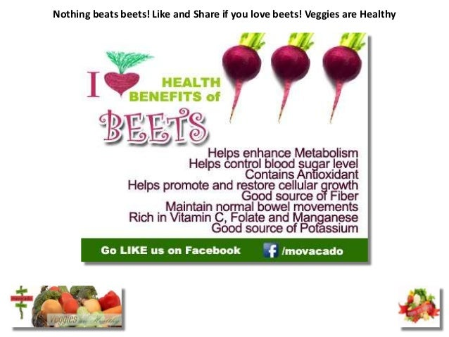 Nothing beats beets! Like and Share if you love beets! Veggies are Healthy