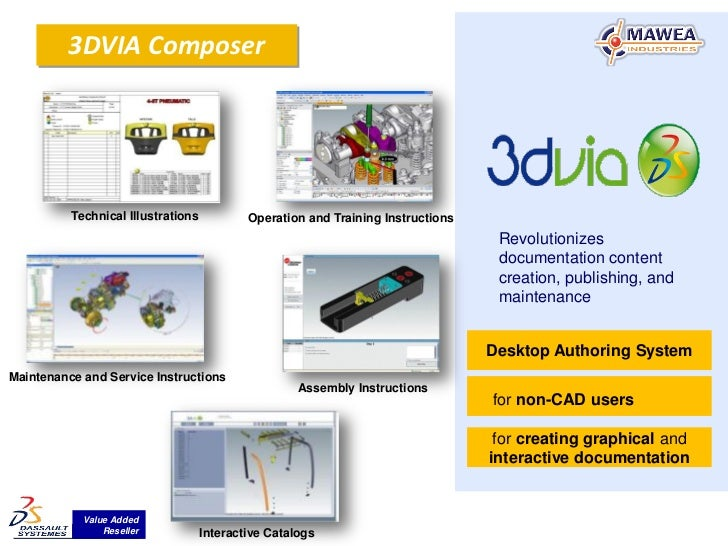3DVIA Composer          Technical Illustrations           Operation and Training Instructions                             ...