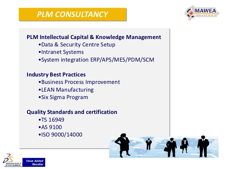 PLM CONSULTANCYPLM Intellectual Capital & Knowledge Management   •Data & Security Centre Setup   •Intranet Systems   •Syst...