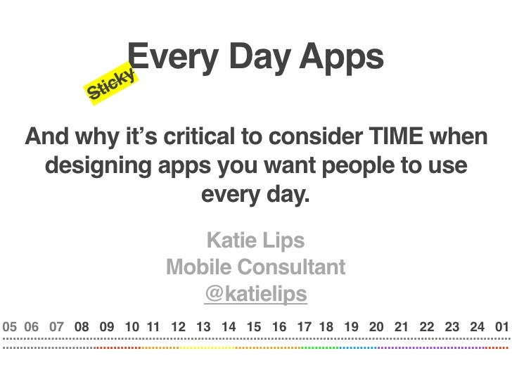 Every Day Apps                                  ky                          Stic        And why it's critical to consider ...
