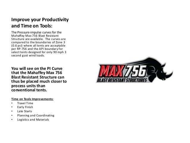 Max 756 Blast Resistant Structures Api Rp 756 Solution