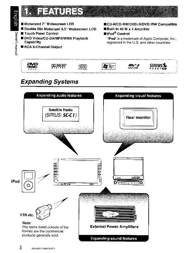 Clarion Vrx485vd Wiring Diagram - DIY Wiring Diagrams •