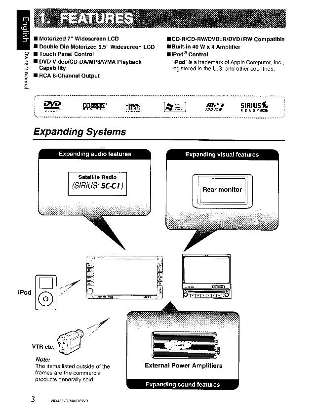 clarion max385vd user manual rh slideshare net Clarion NX409 Wiring Harness Diagram Clarion NX409 Wiring Harness Diagram