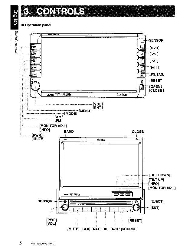 free clarion wiring diagram