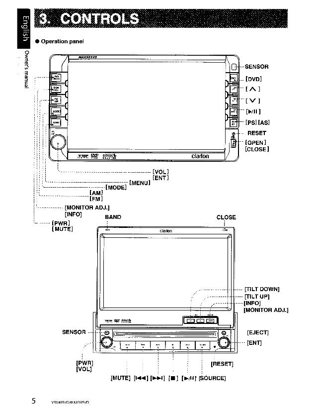 Clarion Marine Stereo Manual - How To And User Guide Instructions •
