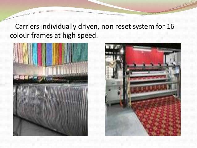 Axminster Weaving Machine Max 91 Van De Wiele