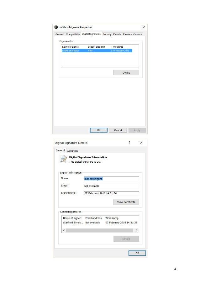 Certificates and Digital Signature Tutor