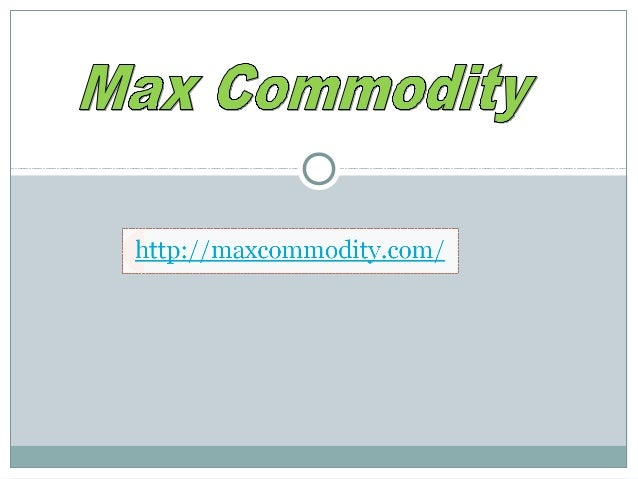 Max Commodity, one of the best leading technical analysts ofthe India Stock Market. He launched his Advisory Business forI...