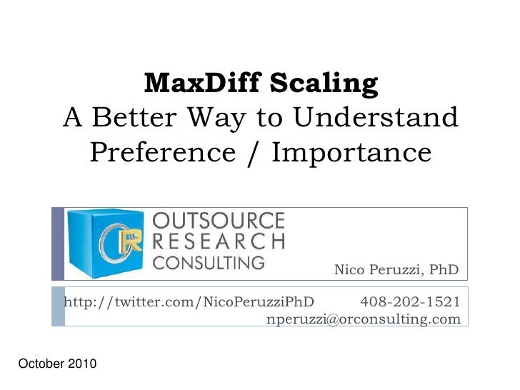 Max diff scaling for research access(4)