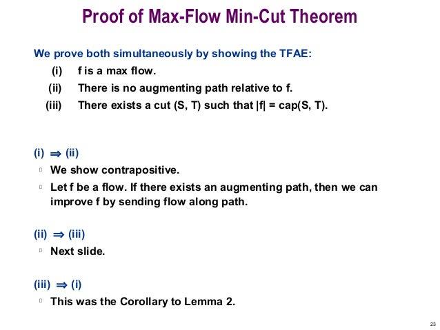 Find minimum s-t cut in a flow network geeksforgeeks.