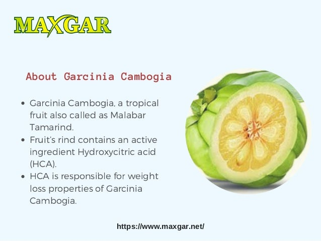 Garcinia Cambogia Fruit Extract Weight Loss Supplement Online Max