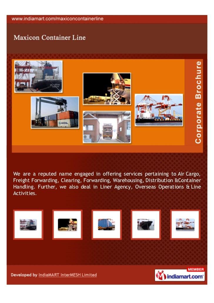 Maxicon Shipping Agencies Private Limited, Navi Mumbai, Air