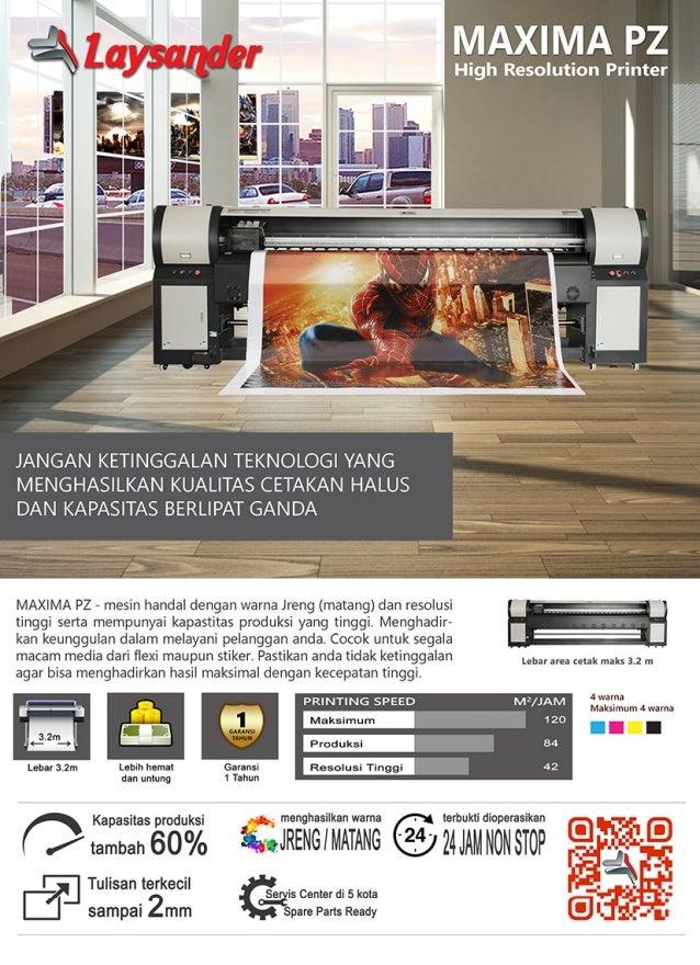 Mesin Digital Printing Maxima PZ