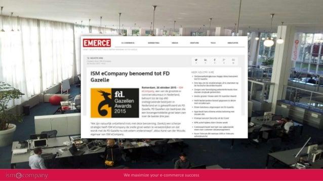 Maximaal e-Commerce rendement uit uw SEO strategie Slide 3