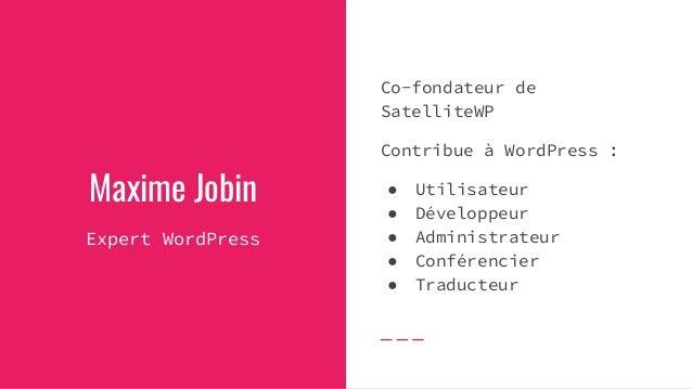 WordCamp Montréal 2019 - 50 000 traductions en 90 jours Slide 2