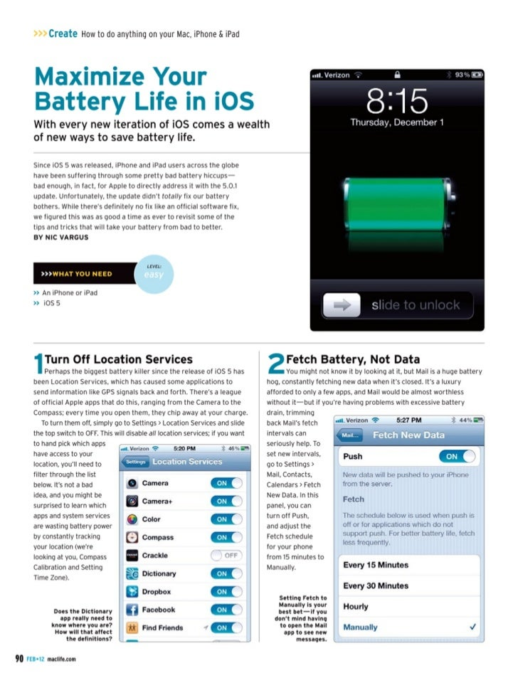 iphone 4s battery life iphone 4s maximize battery 14419