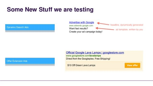 Other Stuff we are using      Automated Rules      Adwords Scripts
