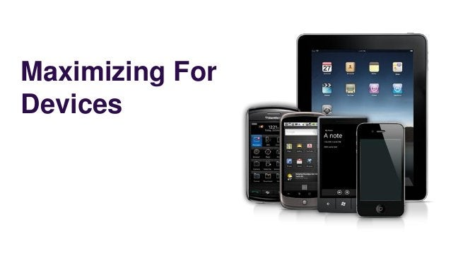 Maximizing ForDevices