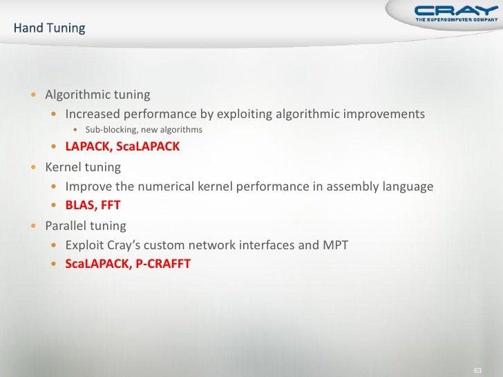 Maximizing Application Performance on Cray XT6 and XE6 Supercomputers…