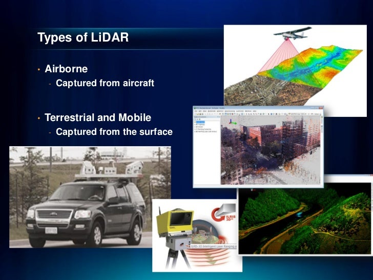 Hawaii Pacific GIS Conference 2012: LiDAR for Intrastructure and Terr…