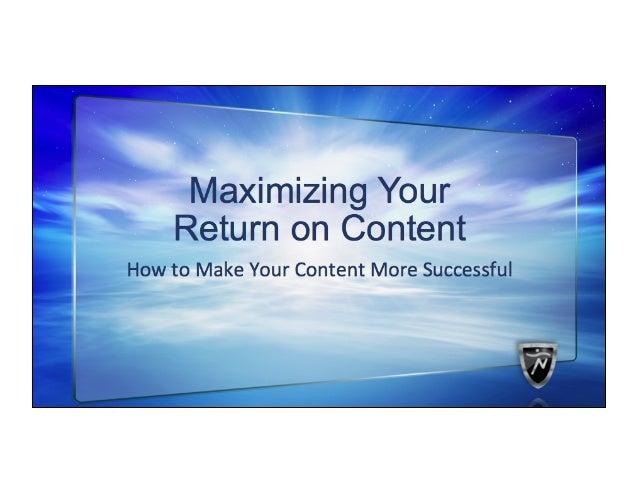 Associations publish a LOT of content