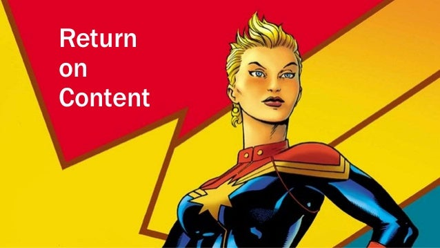 Maximizing your return on content - higher ed edition
