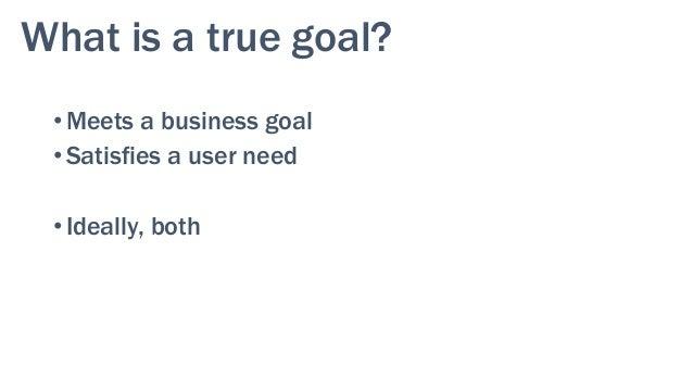 17 Users meet their needs Organization meets its goals Balancing Goals & Needs