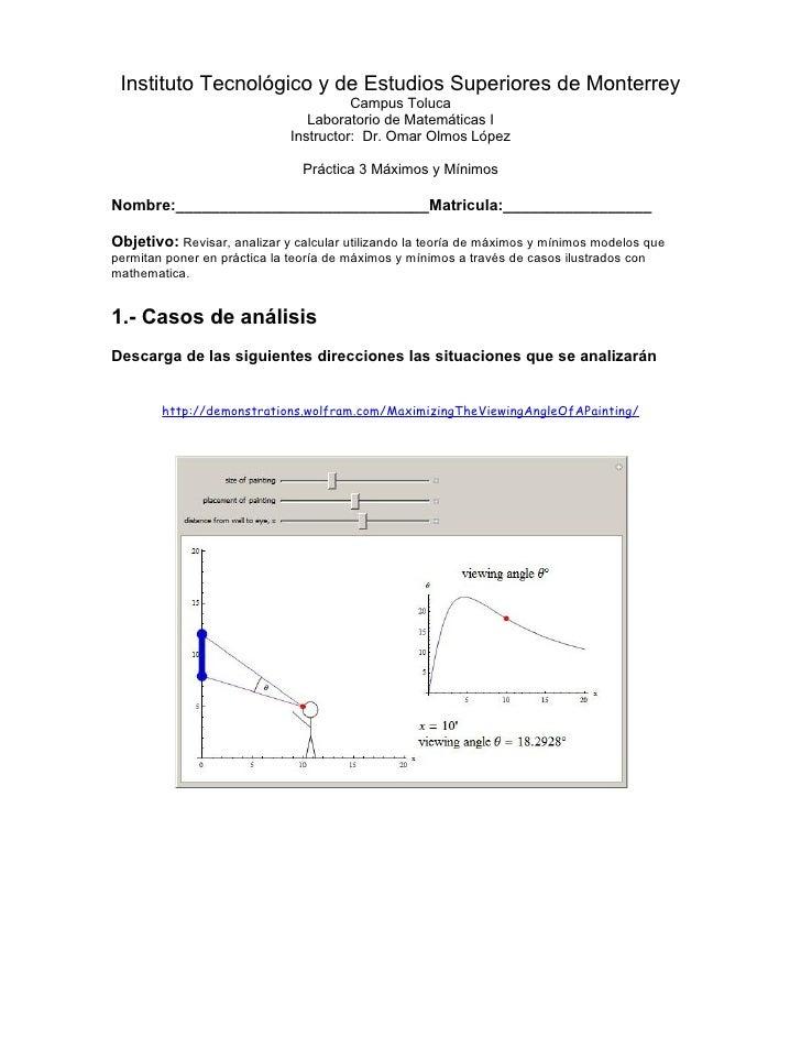 Instituto Tecnológico y de Estudios Superiores de Monterrey                                         Campus Toluca         ...