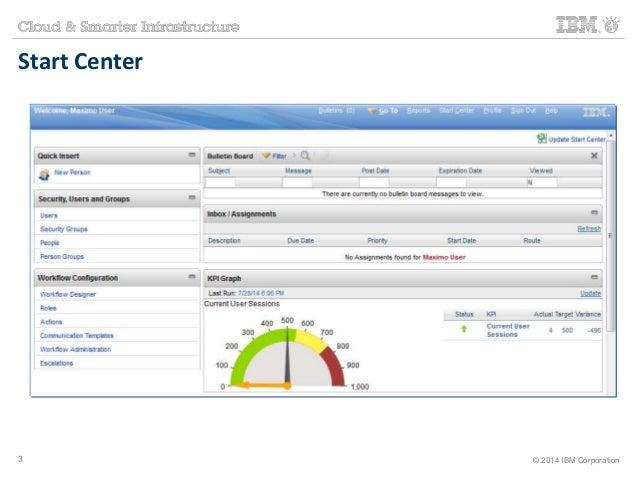 Start Center  3 © 2014 IBM Corporation