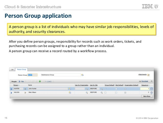 Person Group application  A person group is a list of individuals who may have similar job responsibilities, levels of  au...