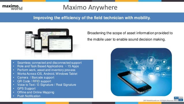 Maximo Field Service Management